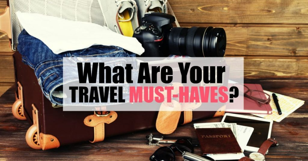 Travel must haves for women on a quick over night trip.