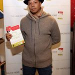 Terrence Howard Picks Up a Copy of 'The Healthy Home'
