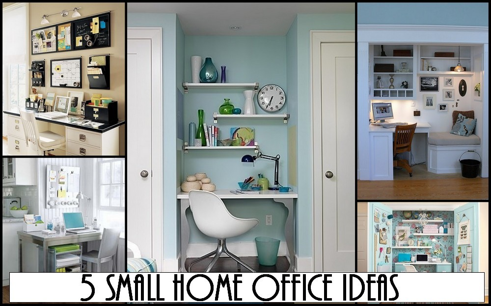 Home office idea home decorating ideas for Small home office design ideas
