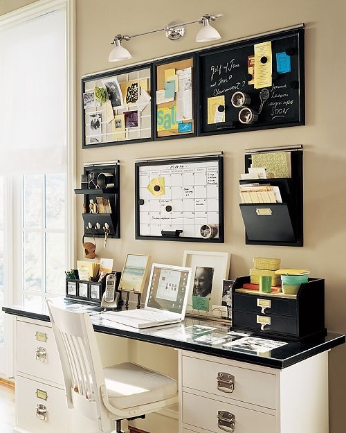 Pics Photos Fun Desk Organization Idea