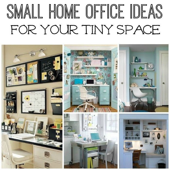 Fine Five Small Home Office Ideas Largest Home Design Picture Inspirations Pitcheantrous