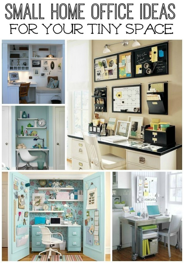 Five small home office ideas - Workspace ideas small spaces ideas ...