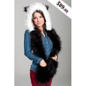 Animal Hats with paws panda