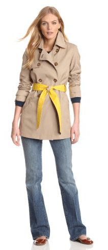 Beige trench coat 06