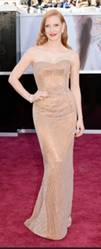 Jessica Chastain 2013 Oscars Dress