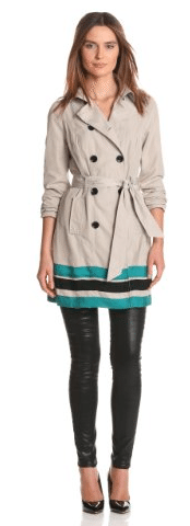 Kensie trench coat 14