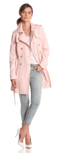 Pink trench Coat 15