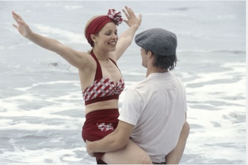 The Notebook Red bathing Suit