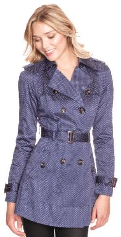 polka dot trench coat 10