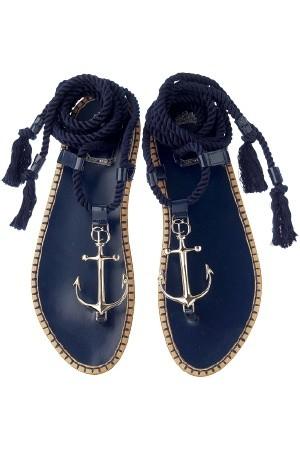 dior anchor sandals