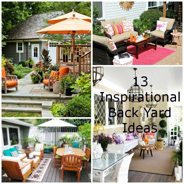 13 Back Yard Ideas