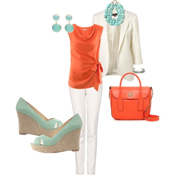Coral and teal trend 02