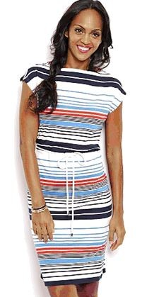Nautica Boat Neck Dress