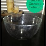 Sparkly Dishes, A Clean Dishwasher and an Instagram Contest with Cascade Platinum