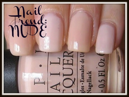 Nude Nail Trend