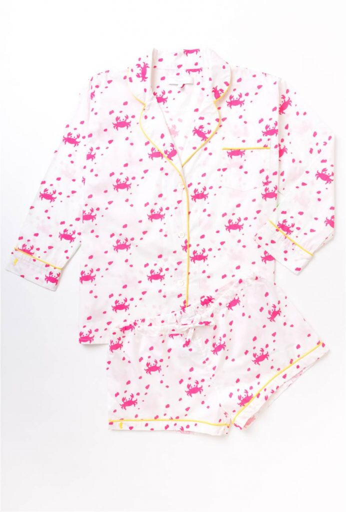 Azalea Crab Short Pj Set