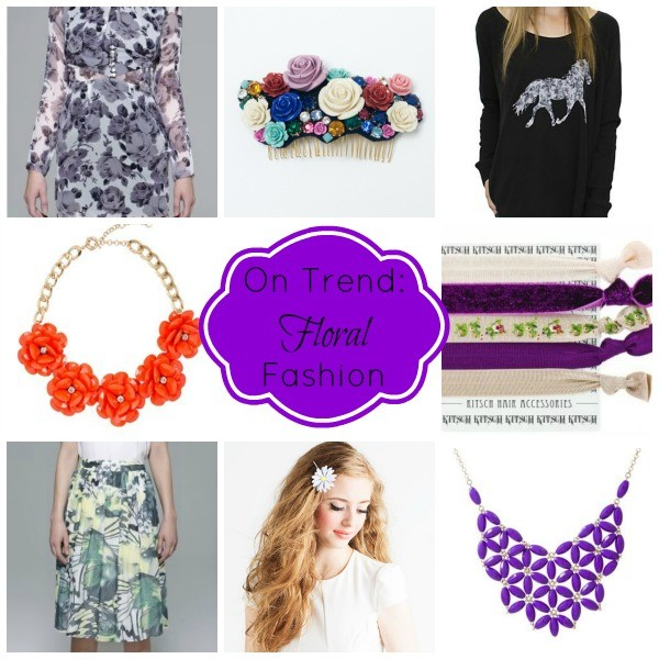 On Trend: Floral Fashion
