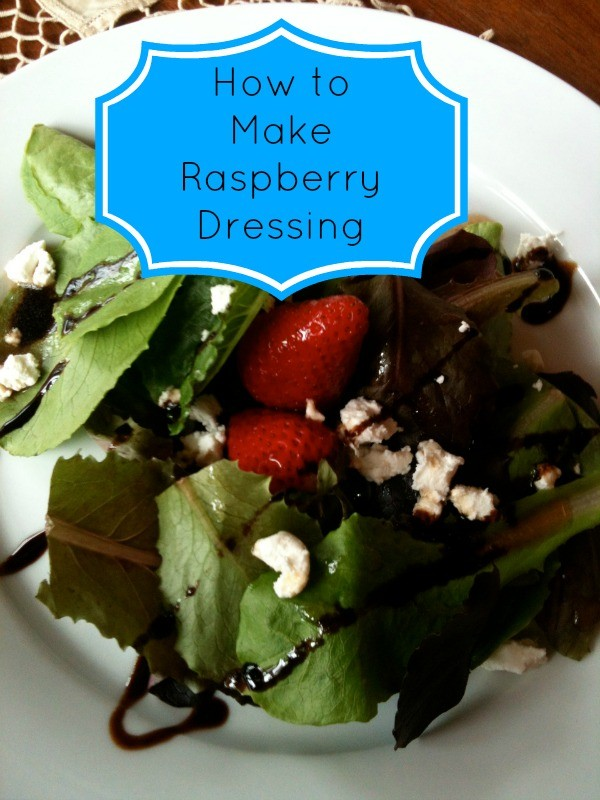 How to make raspberry dressing