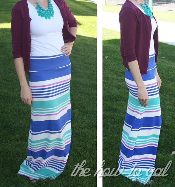 Make Your Own Maxi Skirt 02