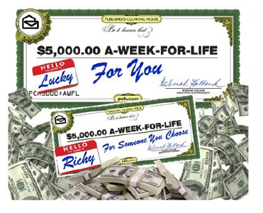 Publishers Clearing House: What Would You Do with $5,000 a Week? | Mom