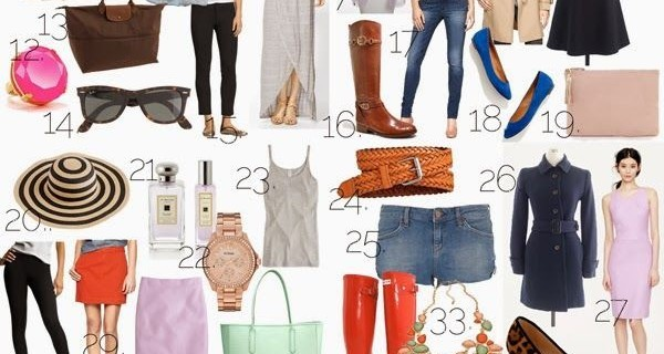 50 things every woman must own - Have you ever wondered what some of the basics for your wardrobe are? Here are some ideas of things you should have so you can create stylish, fashionable outfits everyday.