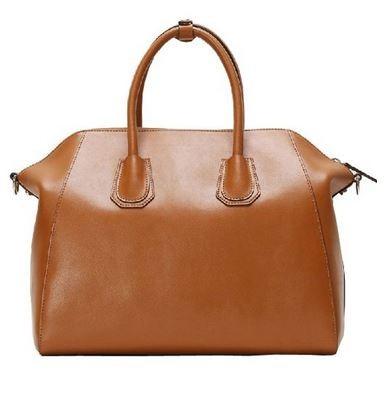 Plusminus Women's Hobo Leather Tote Bag