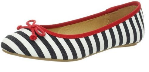 Printed Flats Striped