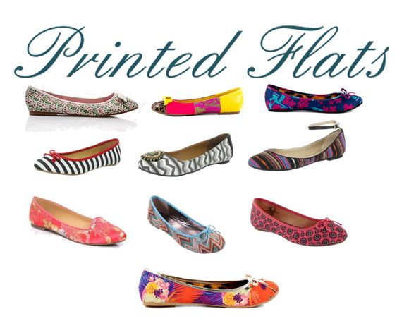 Printed Flats under 50