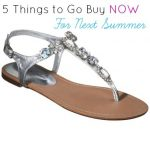Five Things To Go Buy Now For Next Summer