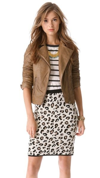cute outfit ideas moto jacket 01