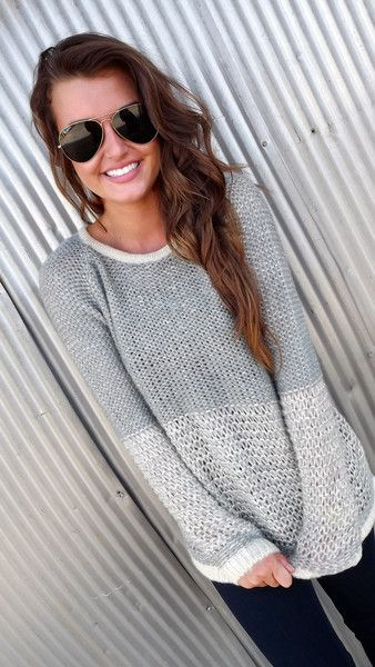 cute outfit ideas oversized sweater