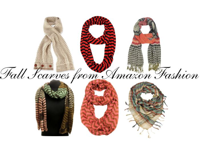 Fall Scarves from Amazon Fashion