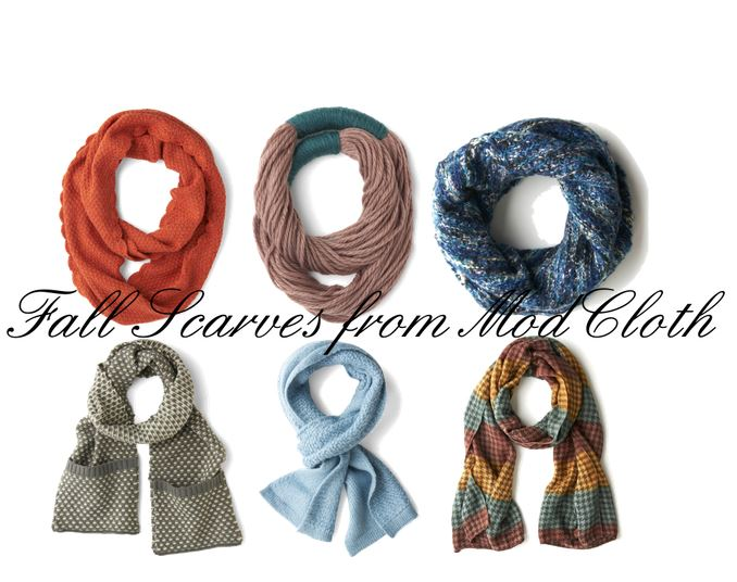 Fall Scarves from ModCloth