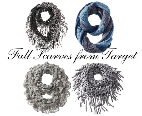 Fall Scarves from Target