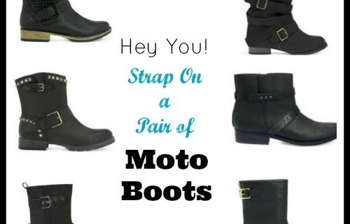 Just Fab Moto Boots