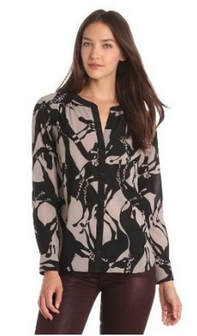 Patterned Blouse Trina Turk