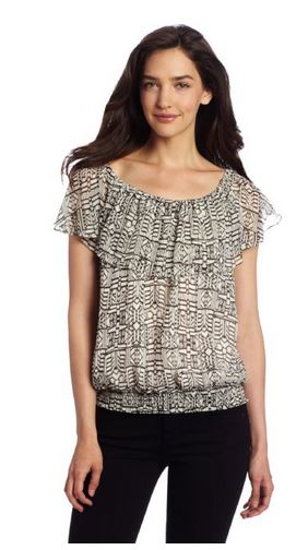 Patterned Blouses Anne Klein