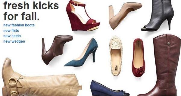 Target shoe sale buy get one 50% off