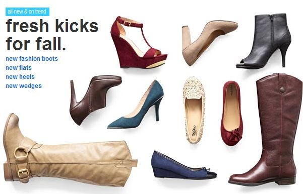There is a sweet deal on women's shoes at Target this week. Be sure you print this $5 off Women's Merona shoes coupon. There is also a Mobile Version of the