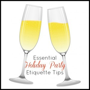 Holiday Party Etiquette Tips