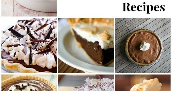 25 Chocolate Pie Recipes