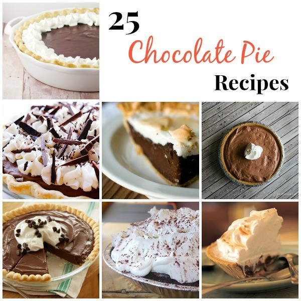 25 Chocolate Pie Recipes