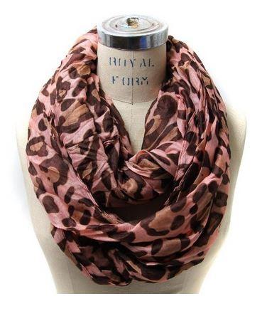 leopard print infinity scarf 02