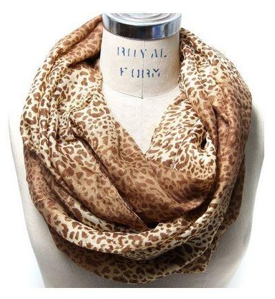 leopard print infinity scarf 03