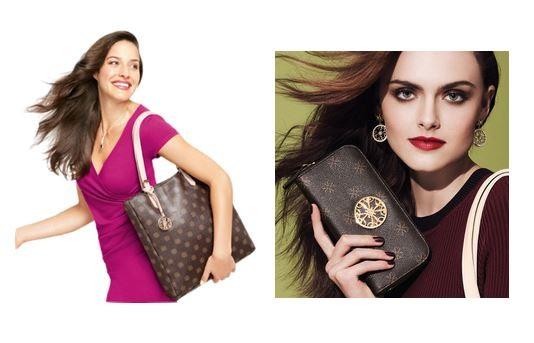 Avon Mailyn tote and wallet
