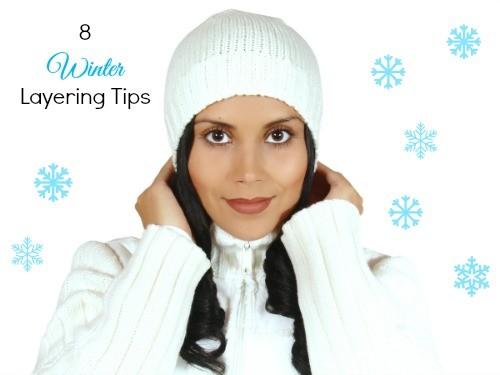 8 winter layering tips