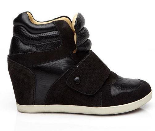 Charlie Sneaker Wedge black