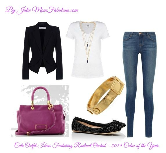 Cute Outfit Ideas Radiant Orchid 01