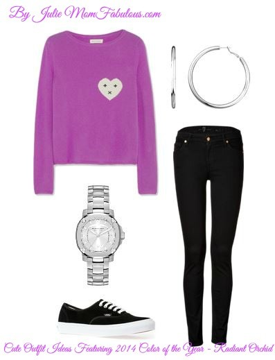 Cute Outfit Ideas Radiant Orchid 02