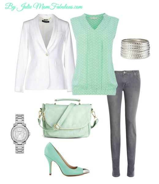 Cute Outfit Ideas mint green 02